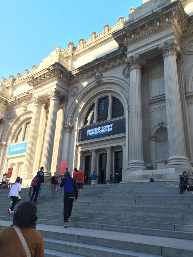 Metropolitan Museum of Art in the Upper East Side