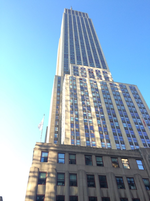Empire State Building when  I was having an Affair to Remember Moment here!!